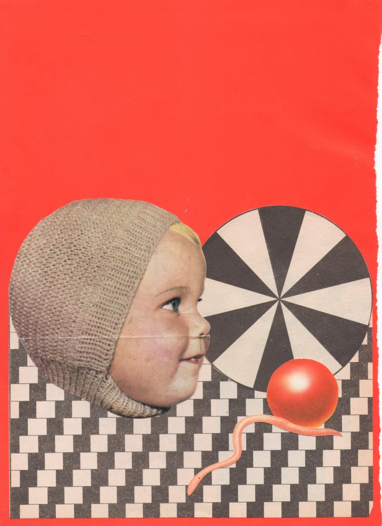 'Twin fear' Collage by Matt Reid